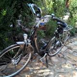 """BICICLETA ELECTRICĂ BATAVUS OLANDA DE ORAŞ DE DAMA 28"""" NOUA - Bicicleta de oras Nespecificat, 22 inch, Numar viteze: 7, Aluminiu, Negru-Gri"""