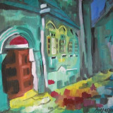 Tablou semnatura NAGY OSZKAR nr 5, Peisaje, Ulei, Realism