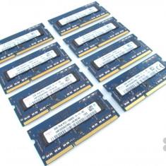 Memorie Ram DDR3 2GB Sodimm 1066Mhz - garantie - montaj gratuit Pret bomba! - Memorie RAM laptop Hynix, Dual channel