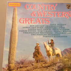COUNTRY & WESTERN GREATS (1973/ PHILIPS REC/ RFG)- VINIL/IMPECABIL/VINYL/COUNTRY - Muzica Country universal records