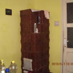 Vand 2 sobe de teracota cu 7 randuri - Soba, Lemn