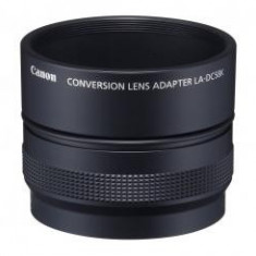 Accesoriu Proiectie Aparate Foto - Adaptor Canon LA-DC58K cu parasolar pentru Canon G10 / G11 / G12