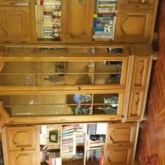 Vând urgent biblioteca lemn masiv - Biblioteca living