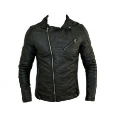Geaca Barbati Zara Motto David Beckham Model Primavara Cod Produs D305, Piele