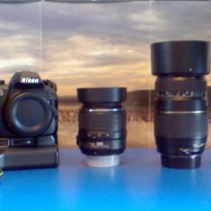 Vand pachet compet Nikon D3100 ( obiective / acumulatori / blit / etc) - Aparat Foto Nikon D3100