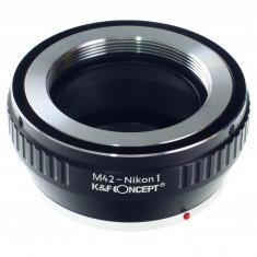 Adaptor aparat foto - Kent Faith M42-Nikon 1 adaptor montura M42 la Nikon 1 (AI 1)