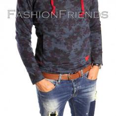 Bluza barbati - Hanorac tip ZARA fashion bleumarin - Hanorac barbati - cod produs: 5190