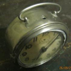 Ceas de mana - Ceas de masa tip JAZ, Made in France, DEFECT