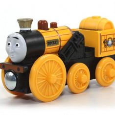 Trenulet de jucarie Fisher Price, 2-4 ani, Lemn, Unisex - Locomotiva Stephen, colectia Thomas si prietenii sai