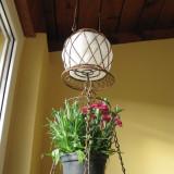 Suport flori - Suport ghiveci suspendat flori solar