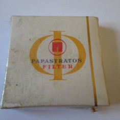PACHET SIGILAT TIGARI COLECTIE PAPASTRATOS ANII 80 - Pachet tigari