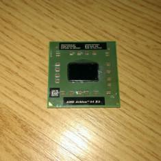 Procesor AMD Athlon 64 X2 TK53 socket S1 G1 - Procesor laptop AMD, AMD Turion 64 X2, 1500- 2000 MHz, Numar nuclee: 2