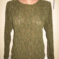 Bluza dama, Maneca lunga, Universala - Bluza dantela guipure Mar 38/ 40