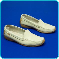 Mocasini dama, Piele naturala - Pantofi / balerini din piele, usori, comozi, calitate GREENFIELD _ femei | nr 40
