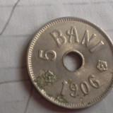 5 BANI 1906 J /4 FRUMOASA - Moneda Romania