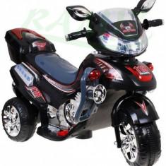 Masinuta electrica copii - Motoscuter cu acumulatori F928 Negru Ramiz