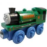 Wooden trenulet Thomas - QUARRY PETER SAM locomotiva din lemn cu magnet - NOU - Trenulet de jucarie, Unisex