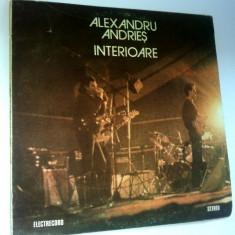 Disc vinil/ vinyl Alexandru Andries - Interioare - Muzica Rock electrecord