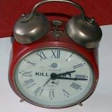 Ceas deşteptător Aradora, din anii '80