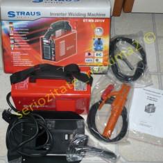 Invertor sudura - Aparat sudura Straus Austria invertor 200A supertit superbaza 1, 6 - 4 mm