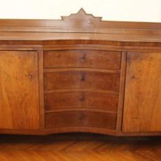 Mobilier - Servanta din lemn masiv cu usi si sertare; Dulap; Comoda; Bufet