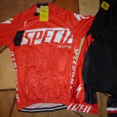 Echipament ciclism complet Specialized rosu 2016 set pantaloni tricou