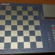 SAH TABLA ELECTRONICA KASPAROV COMPUTER III . FARA PIESE .FUNCTIONEAZA . - Table sah