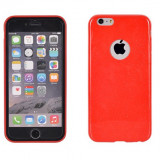Husa Telefon - Husa Iphone 5, silicon, Ultra Slim, Candy 0.3MM, rosu