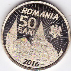 50 bani 2016 comemorativ Iancu de Hunedoara si castelul huniazilor UNC (1) - Moneda Romania
