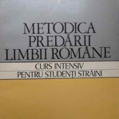 Carte Psihologie - Metodica Predarii Limbii Romane Curs Intensiv Pentru Studenti - Vasile Serban Liliana Ardelean, 154443