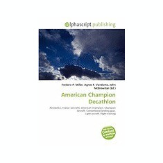 American Champion Decathlon - Carte Literatura Engleza