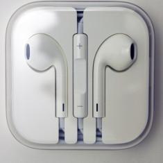 Casti Telefon, Alb, In ureche, Comenzi pe fir - Casti design Apple iPhone casti albe iphone casti iPhone casti iPod casti iPad