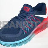 Adidasi Nike Air Max 2015 Blue & Red + LIVRARE GRATUITA! - Adidasi barbati, Textil