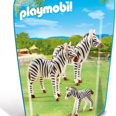 Familie De Zebre - Figurina Animale Playmobil