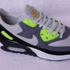 Adidasi barbati, Textil - Nike AirMAx airmax Barbati perna cu bule de aer