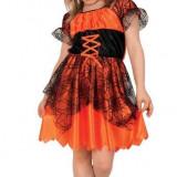 Costum copii - Costum Pentru Serbare Vrajitoarea Cea Infricosatoare 104 Cm