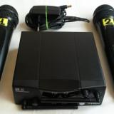 Microfon - Set 2 Microfoane Wireless AKG WMS40 Mini Dual Vocal Pro 2 Duo