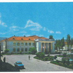 7408 - Romania ( 60 ) - Bihor, Dr. PETRU GROZA, old car - postcard unused 1972 - Carte Postala Crisana dupa 1918, Necirculata, Printata