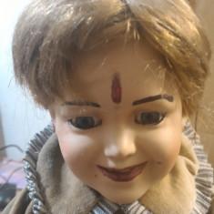 Papusa de colectie - Papusa Porcelan de colectie fata saraca 40cm
