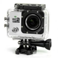 Camera Video Sport iUni Dare 65i, Wi-Fi, Argintiu, Full HD, LCD 2 inch, Sport Kit - Camera Video Actiune