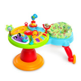 Jucarii - Bright Starts – 60368 Centru de activitati 3-in-1 Around We Go Zippity Zoo