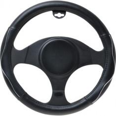 Husa volan PVC Automax, neagra - Husa Auto