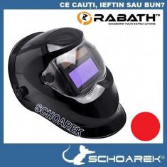 Masca de sudura automata Rabath - Black - cu cristale lichide - Masca sudura