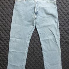 Blugi barbati - Blugi Armani Jeans Indigo 004 Series Comfort Fit; marime 32, vezi dim.; ca noi