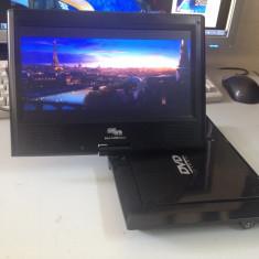 Televizor LCD, Sub 19 inchi - MINI TV LCD 12V AUTO - DVBT + DVD PLAYER + USB + SD-CARD COBRA CAMELIA 2