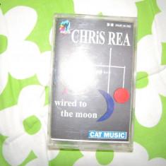 Caseta audio CHRIS REA - Wired To The Moon (1984) - Muzica Rock cat music, Casete audio