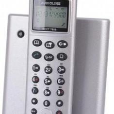 Telefon fix Audioline DECT7800, fara fir, robot integrat