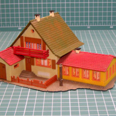 Macheta, 1:87 - Casa cu garaj scara HO(5424)