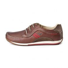 Pantofi eleganti din piele naturala exterior si interior, marca Grisport (GR40800OV6 ) - Pantofi barbati Grisport, Marime: 39, 41, 42, 44, 45, Culoare: Maro