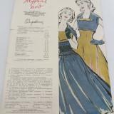 REVISTĂ MODA LIMBA RUSĂ / NR.2/ 1957 - Revista moda